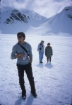 Jonny back at Kahiltna Int'l base camp, Alaska, 2003.