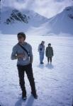 Jonny back at Kahiltna Int'l base camp, Alaska, 2003.